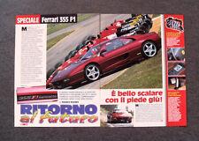 [GCG] AP12 - Clipping-Ritaglio -1997- SPECIALE FERRARI 355 F1 , MARANELLO