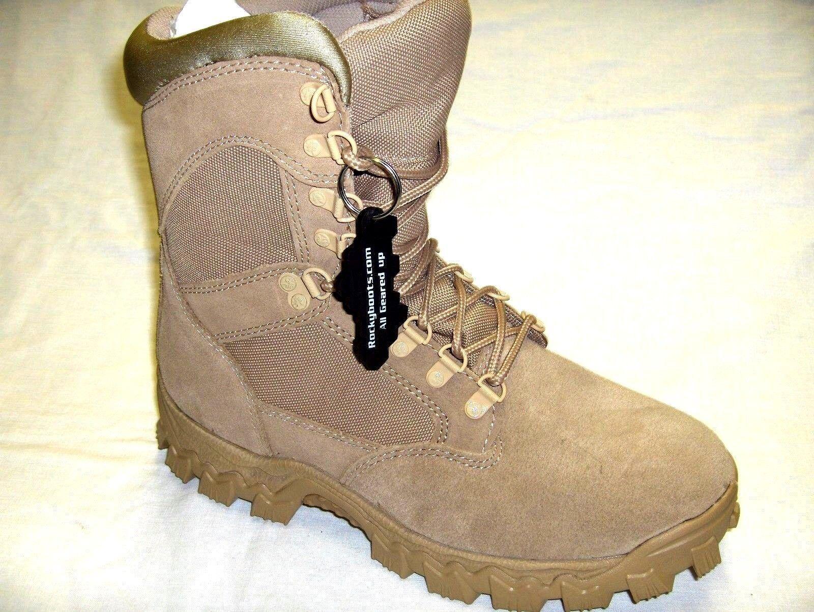 Rocky Funcional Súper Fuerte & Claro Militar botas Safari Tamaños 12 Ancho