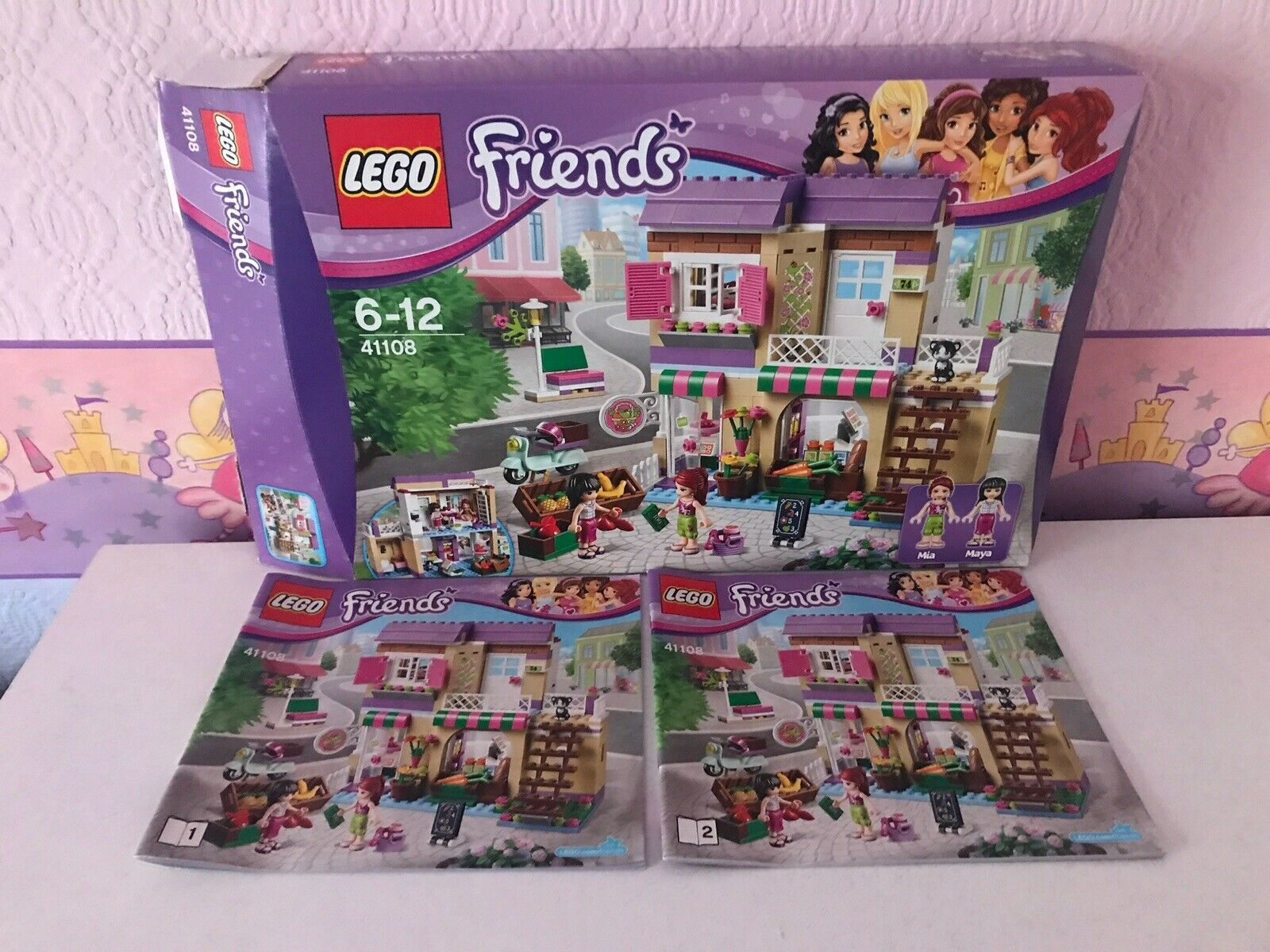 Lego friends sets used 41108 Ith Insructions And Box