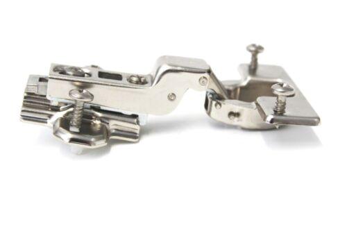 4 Stück HETTICH Schnellmontage-Scharnier Topfscharnier Topfband Kröpfung K9,5