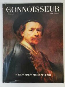 The-Connoisseur-Magazine-1976-November-Norton-Simon-Museum-Of-Art