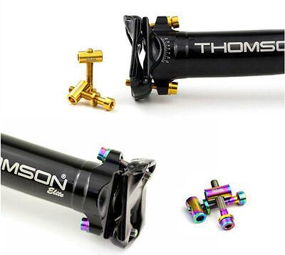 STAN T25 Titanium Ti Bolts fit Thomson Seatpost Bolt Nut Washer 2 PCS #54876