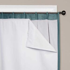 Smartblock 90 Quot Rod Pocket Insulating Blackout Curtain