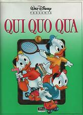 Walt Disney presenta QUI QUO QUA cartonato Disney Libri 1a edizione 1992 Barks