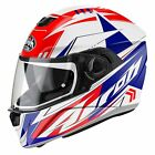 Airoh Helmet Stbt55 INTEGRALE Storm Battle Red Gloss S