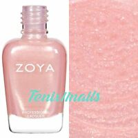 ZOYA ZP261 BEBE pink shimmer nail polish for sparkling french manicure *New