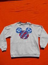 DISNEY Fashions Sweatshirt Team Disney 96 Original Vintage 90s Mickey Mouse XL