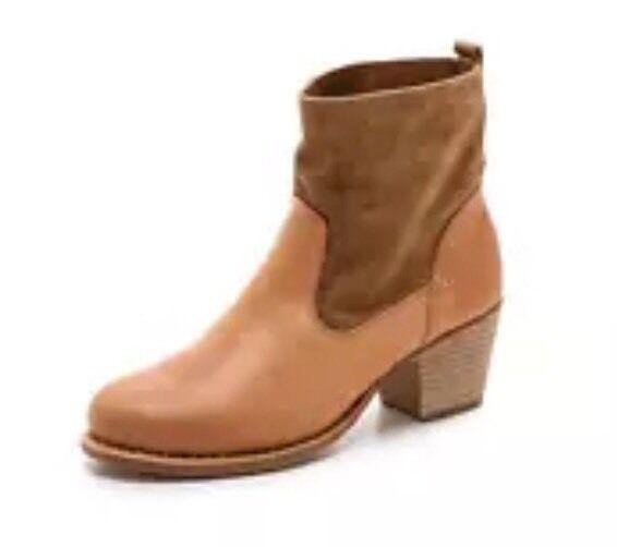 Rag & Bone Women's Mercer II Boots orange Brown 5655 Sz 41 EUR