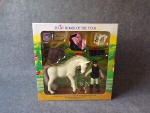 Julip-Horse-of-the-Year-HOTY-1420-Isabella-amp-Icicle-New-Sealed-Animal-Toy