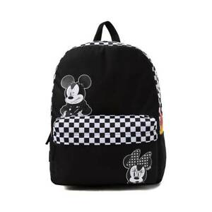 621648f9629 Vans DISNEY Punk Mickey Realm Backpack (NEW) Minnie Checkers Flame ...