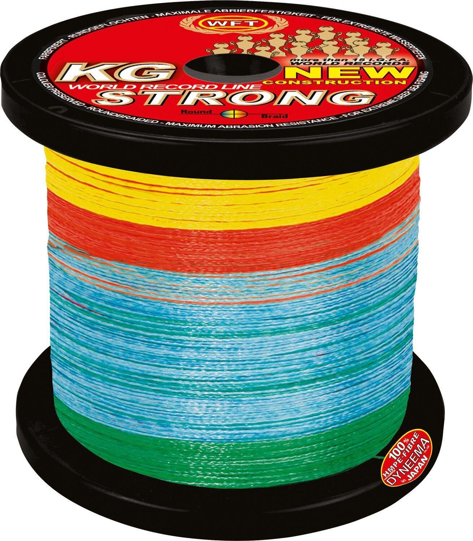 ( /1m) WFT KG strong geflochtene Schnur 1000m 0,32mm 51kg multicolor