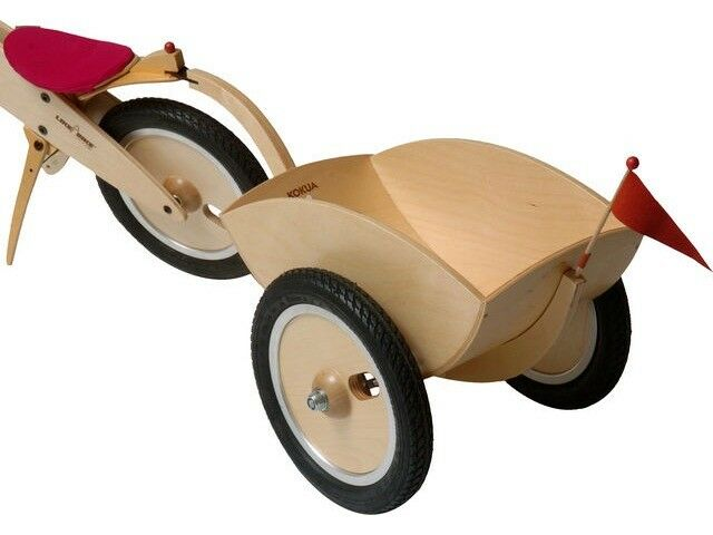 Carrello bicicletta LIKEaBIKE Wooden Bike Trailers