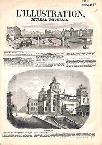 Citadelle Château de Ferrare/Ferrara Émilie-Romagne Italia Italie GRAVURE 1847 - France - EBay CITADEL FERRARA CASTLE EMILIA-ROMAGNA ITALY CaricatureFrance ATTENTION, QUE LA COUVERTURE, PAS LE JOURNAL ENTIERJUST A COVER, NOT A NEWSPAPER ANTIQUE PRINTGRAVURE 100 % DÉPOQUE 1847 PORT GRATUIT EUROPE A PARTIR DE 4 OBJETS BUY 4 ITEMS AND E - France