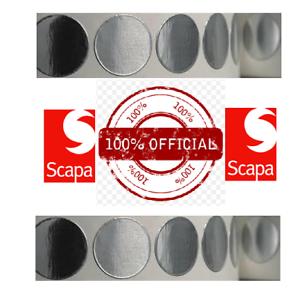 Scapa CW40 discos de lámina de aluminio reparación de Agujero Ojal 25mm-hojas de 20
