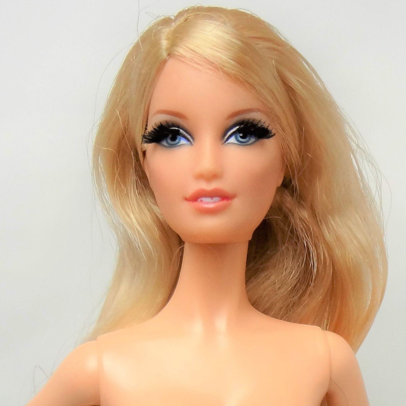 Nude Barbie The Look City Shopper Blonde Model Muse Doll Lara sculpt 2013