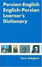 Persian-English English-Persian Learner's Dictionary by Yavar Dehghani (2006,...