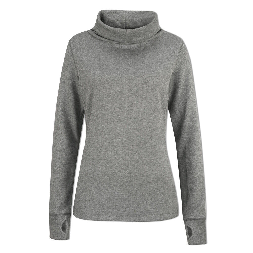 Puma Ladies Cozy Sweater with warmCELL in Grey Heather 39% OFF RRP