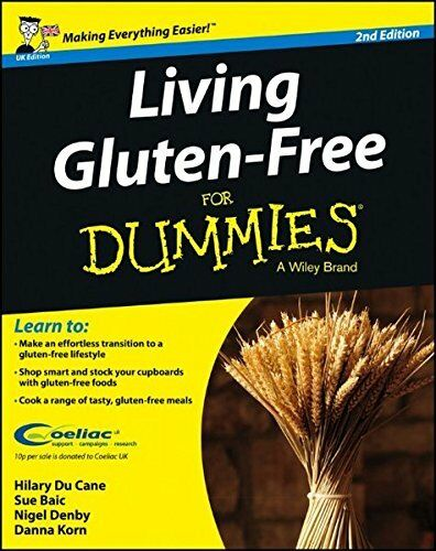1 of 1 - Living Gluten-Free For Dummies by Korn, Dana 1118530993 The Cheap Fast Free Post
