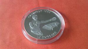 10-DOLLAR-SOLOMON-ISLAND-034-Olympiade-1992-034-BOXER-1992-999-1000