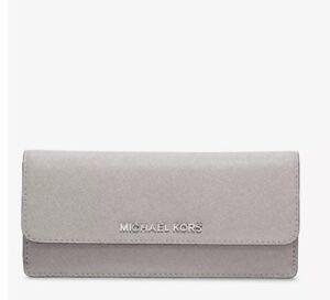 021ba0eaac65 MICHAEL Michael Kors Jet Set Travel Slim Saffiano Leather Wallet ...