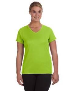 86685858ec11 Image is loading Augusta-Sportswear-Ladies-Moisture-Wicking-V-Neck-Big-