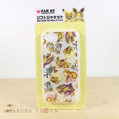 Soft Case Anime Pokemon eevee Pikachu