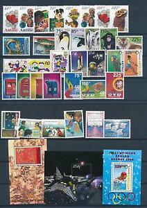 Nederlandse Antillen Netherlands Antilles 2000 Complete Year Set MNH