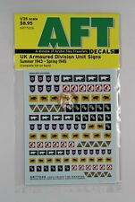 Archer 1/35 UK Armoured Division Unit Signs (Summer 1943 - Spring 1945) AR77026