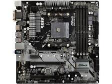 ASRock B450M PRO4 AM4 AMD Promontory B450 SATA 6Gb/s USB 3.1 HDMI Micro ATX AMD