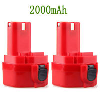 2x 2000mah 12v Nicd Replace Battery For Makita 12 Volt Cordless Drill Power Tool