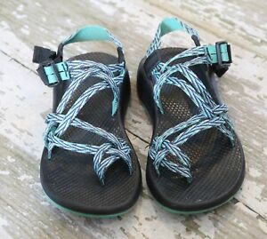 42a6800d786d CHACO ZX 2 Vibram Unaweep Ecotread Classic water Shoes Chevron ...