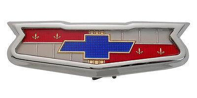 1960 CHEVY BEL AIR EL CAMINO 283 V8 Trunk Emblem Full Size Chevrolet New