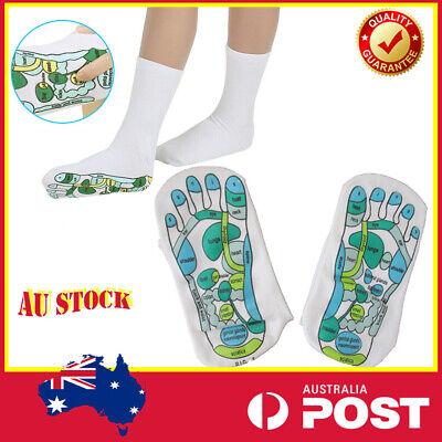 Foot Massage Socks Far East Healing Principles Acupressure Reflexology