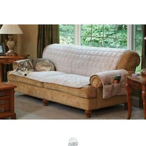 Magnificent Details About Non Slip Furniture Protecting Pet Covers Sofa Cover Cement Beige Color Sure Fit Machost Co Dining Chair Design Ideas Machostcouk