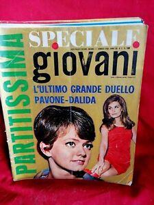 GIOVANI 2 1968 Morandi Pavone Dalida Maurizio Vandelli Beatles Sonny & Cher