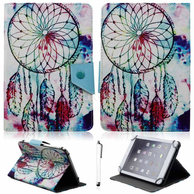 "Cool For  Asus Zenpad 7"" 8"" 10.1"" Tablet Universal Leather Stand Case Cover +Pen"