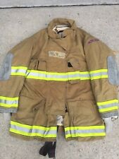Firefighter Globe Turnout Bunker Coat 49x35 G Xtreme No Cut Out 2007
