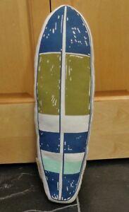 Pillowfort Surf Board Decorative Pillow NWOT