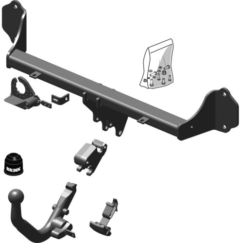 Detachable Tow Bar Brink Towbar for BMW 4 Series Convertible 2013-2019