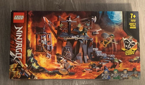 LEGO 71717 Ninjago JOURNEY TO THE SKULL DUNGEONS In Stock Brand New US SHIPPING