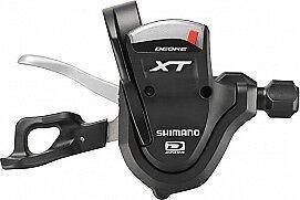 Shimano MTB/Fahrrad-Schalthebel XT SL-M780 Rechts 10-fach schwarz/silber