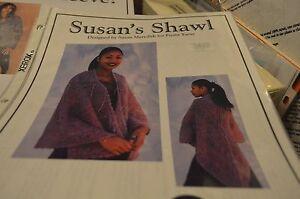 Fiesta Yarn Knitting Pattern Susan's Shawl