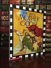 Real Mother Goose Brand New Illustrated Gift Hardcover Classic Rhymes Children's
