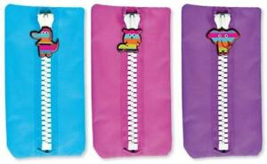 Anker - Rascals Pencil Case Clearance Price, 1 X Pink Purple or Blue Canvas Case