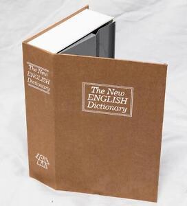 Yellow-English-Dictionary-Book-Cash-Money-Safe-Storage-Box-with-Lock-tthc