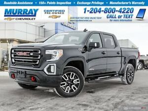 2020 GMC Sierra 1500 AT4 4X4 * CrewCab * Htd Steering * AppleCar