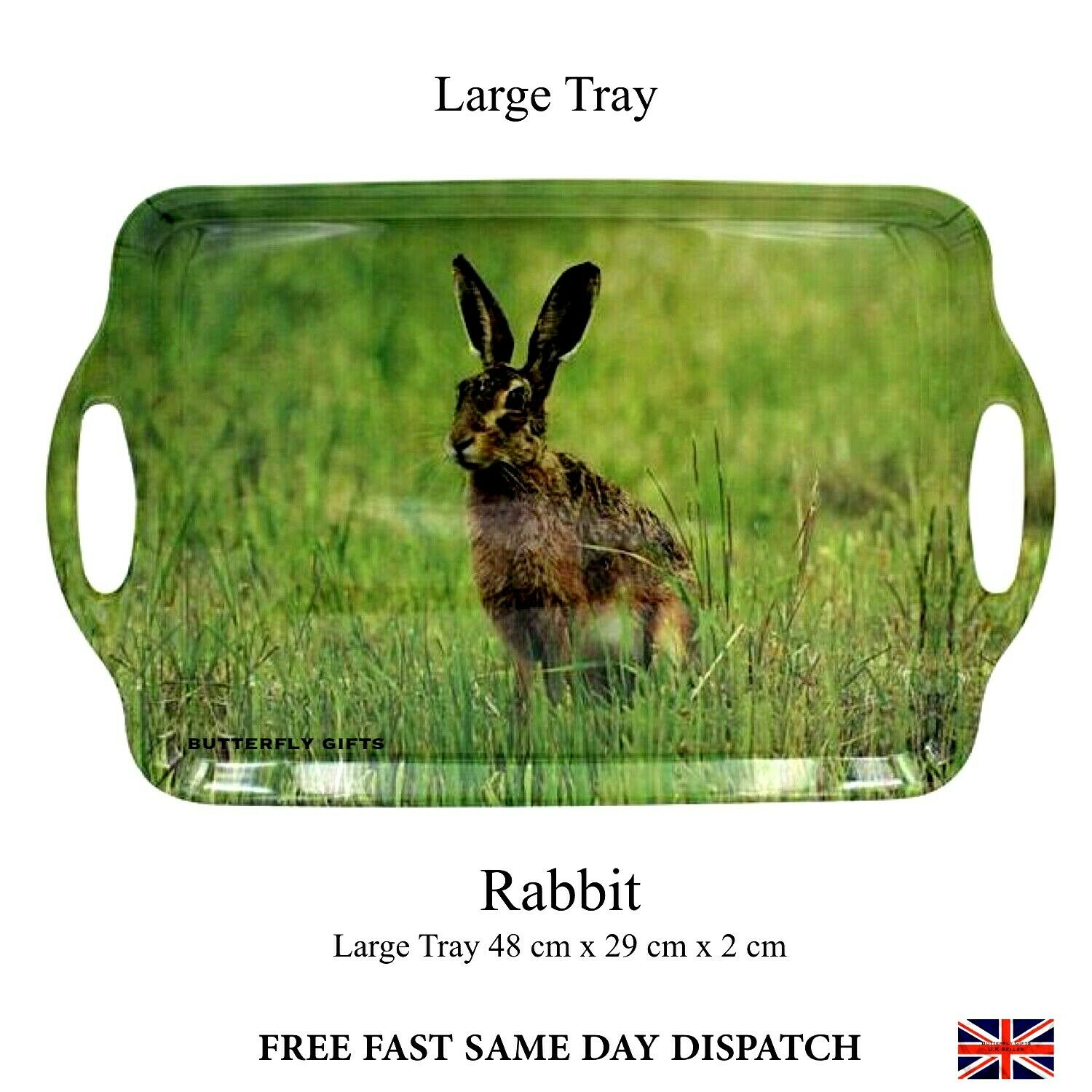 Hare Large Tray 989