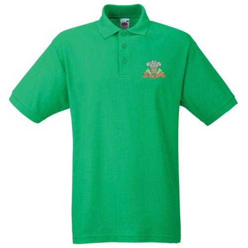 The Royal Hussars Polo Shirt Embroidered Logo