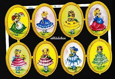 Rar Erfrischend Und Wohltuend FüR Die Augen Wie Eo 5807 # Glanzbilder # Mlp 1697 Süße Mädchen Oval In Medaillons Alt
