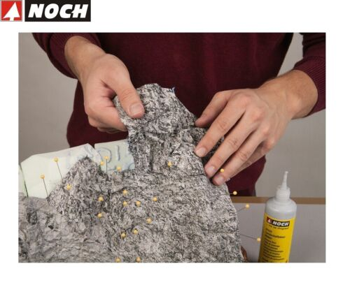 "NOCH 60305 Knitterfelsen /""Seiser Alm/"" 45 x 25,5 cm 1 m² - 95,78 € NEU"